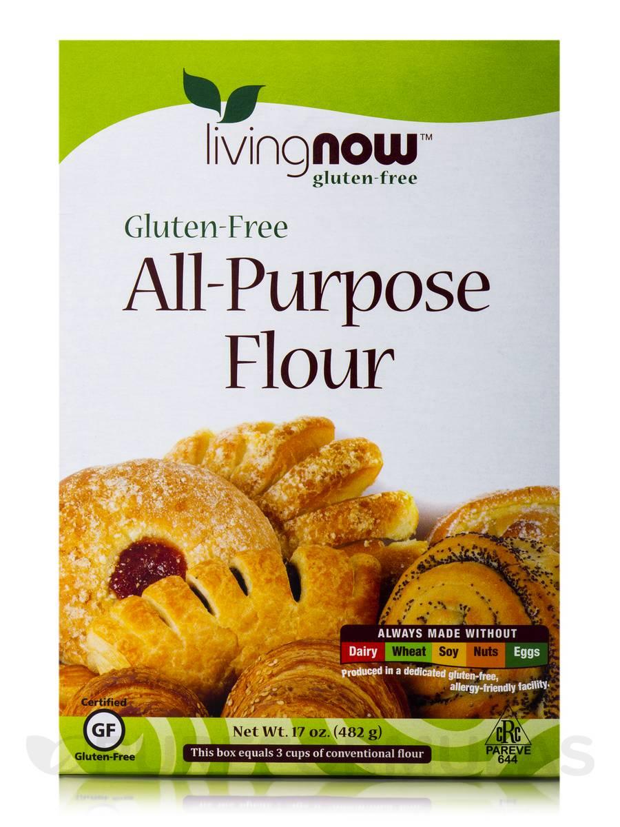 LivingNow™ Gluten-Free All-Purpose Flour - 17 oz (482 Grams)