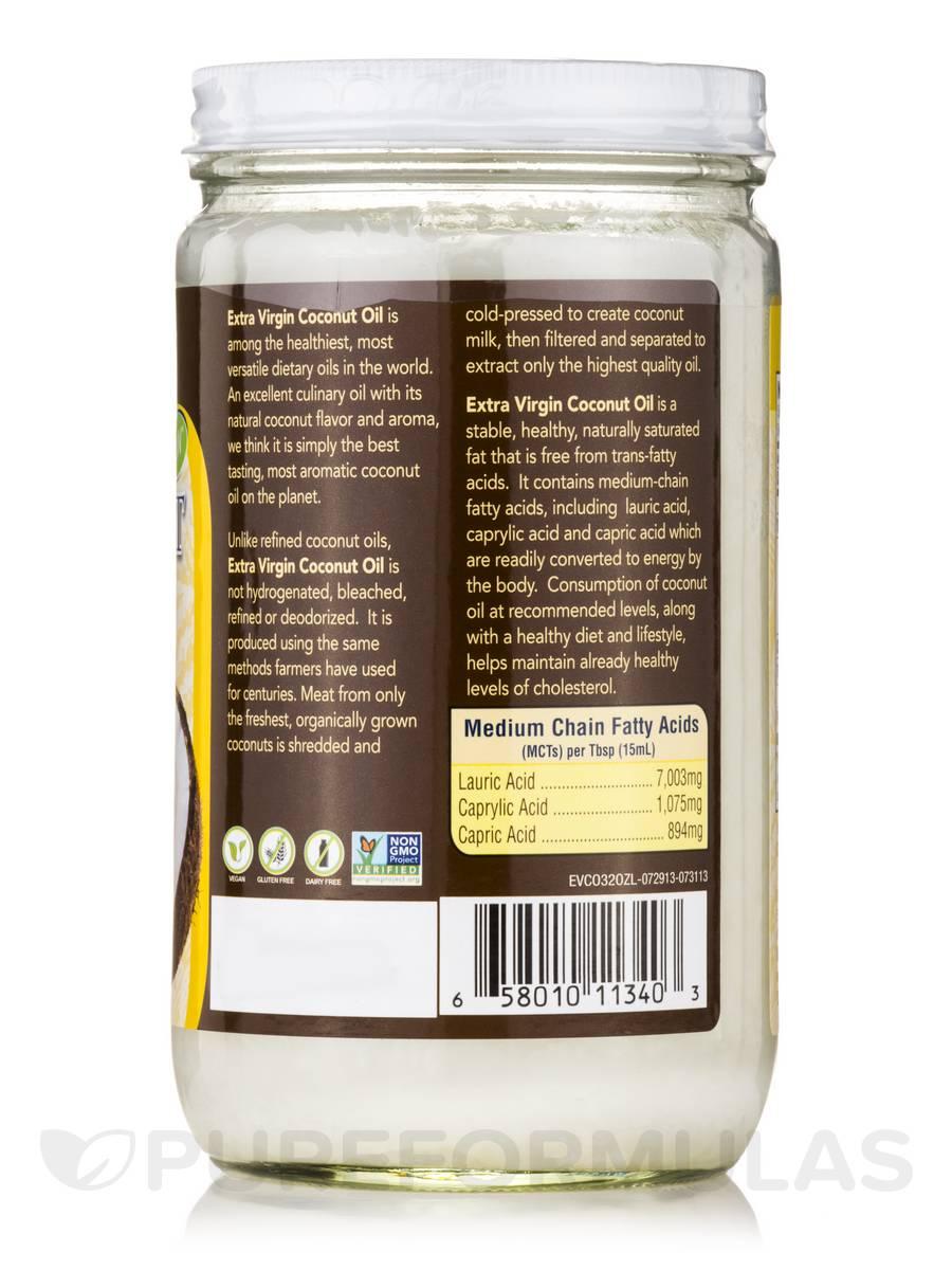 Living Foods Organic Extra Virgin Coconut Oil - 32 fl. oz (946 ml)