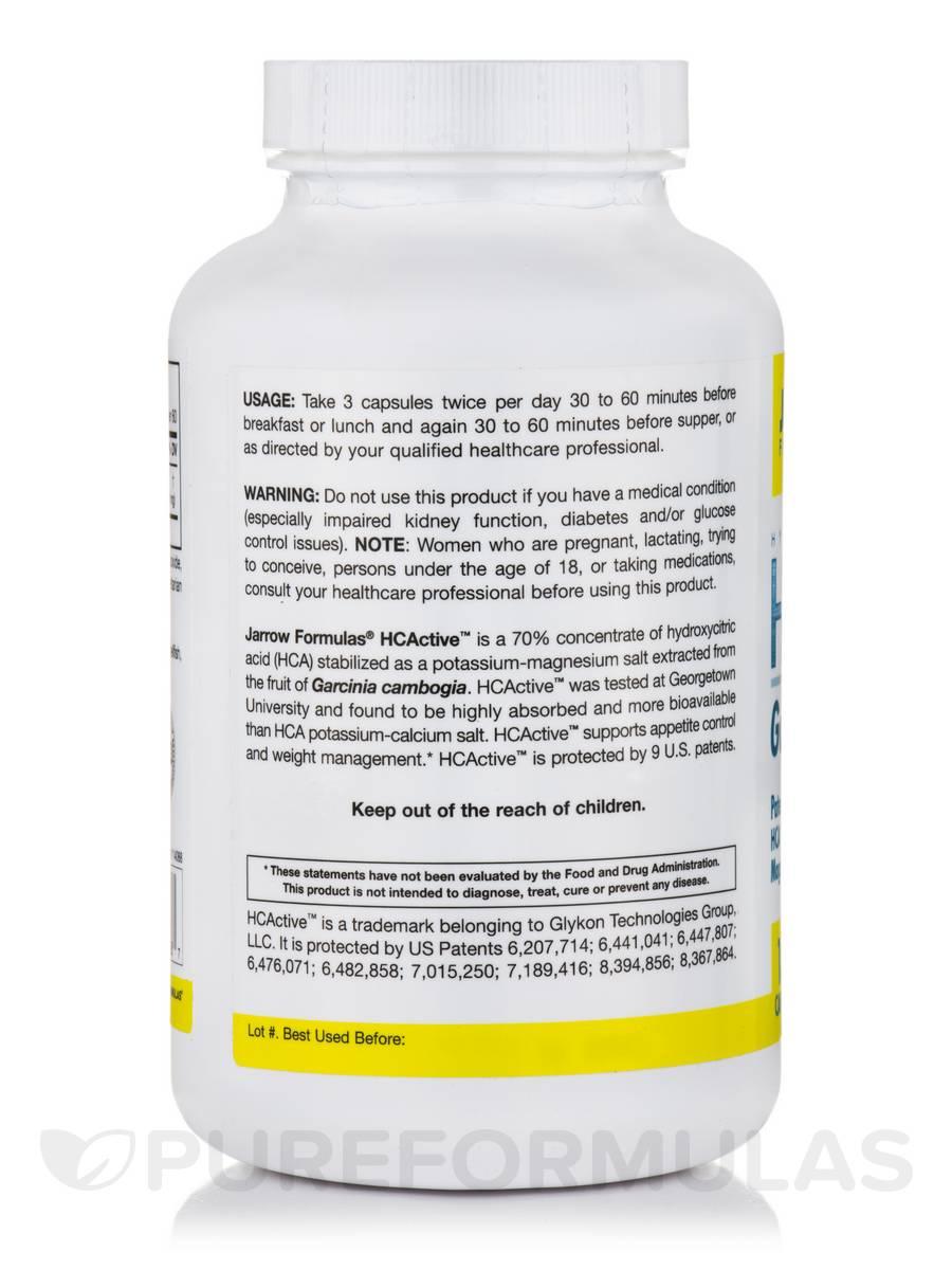 Hydroxycitric acid garcinia cambogia