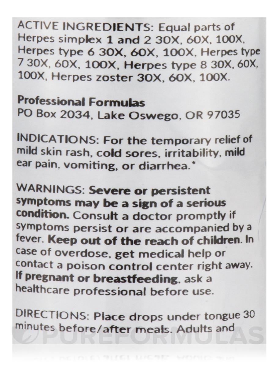 Herpetic Nosode - 2 fl  oz (59 ml)