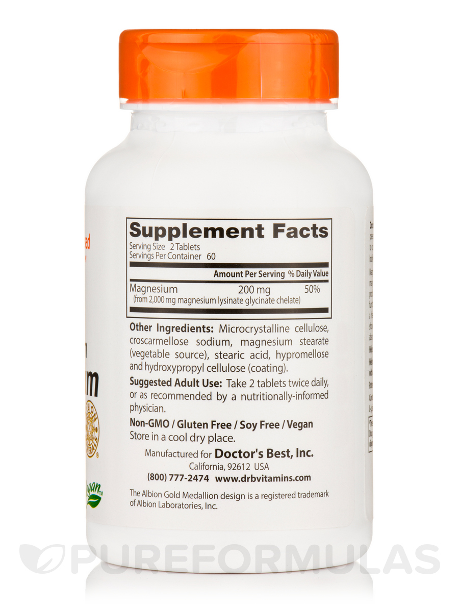High Absorption Coq10 With Bioperine 200 Mg: High Absorption Magnesium (100% Chelated With TRAACS
