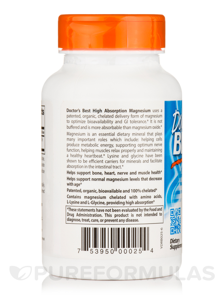 120 Best Longmire Images On Pinterest: High Absorption Magnesium (100% Chelated With TRAACS