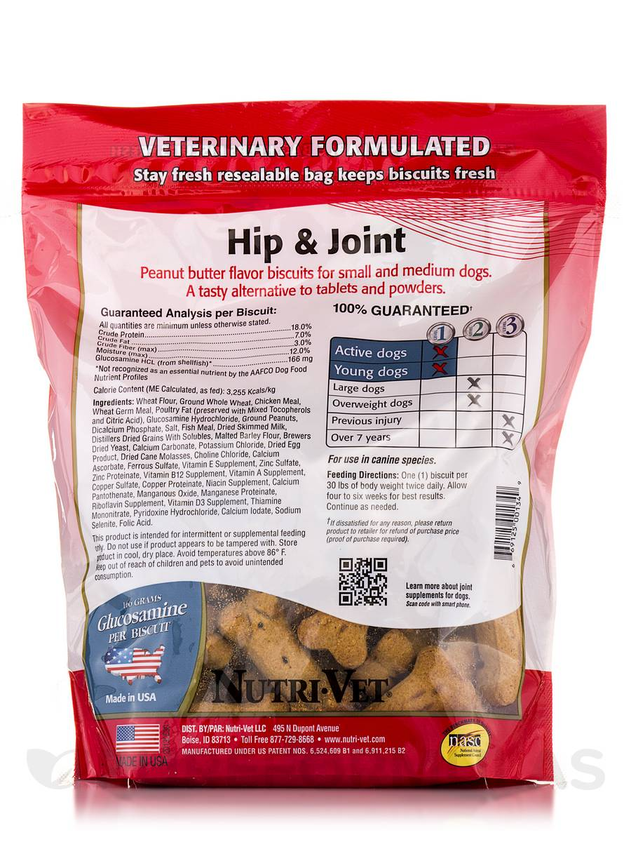Nutri Vet Hip And Joint Biscuits Extra Large Dog
