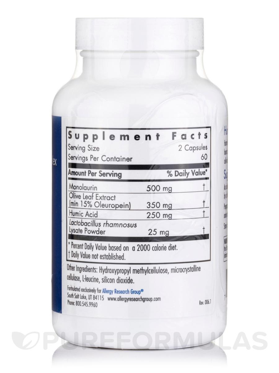 Humic-Monolaurin Complex - 120 Vegetarian Capsules