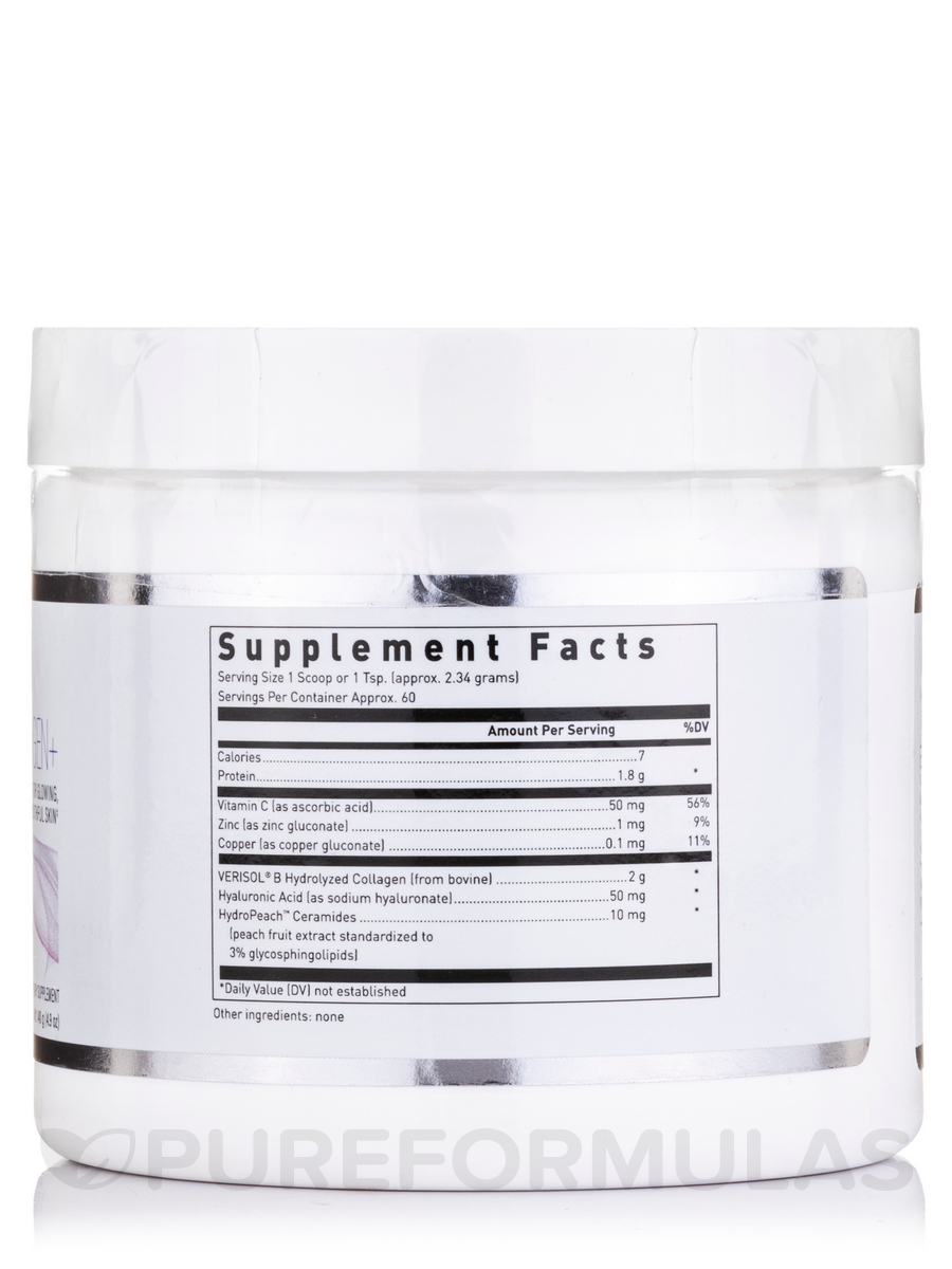 Hydrolyzed Collagen Plus With Hyaluronic Acid 3 Oz 84 Grams