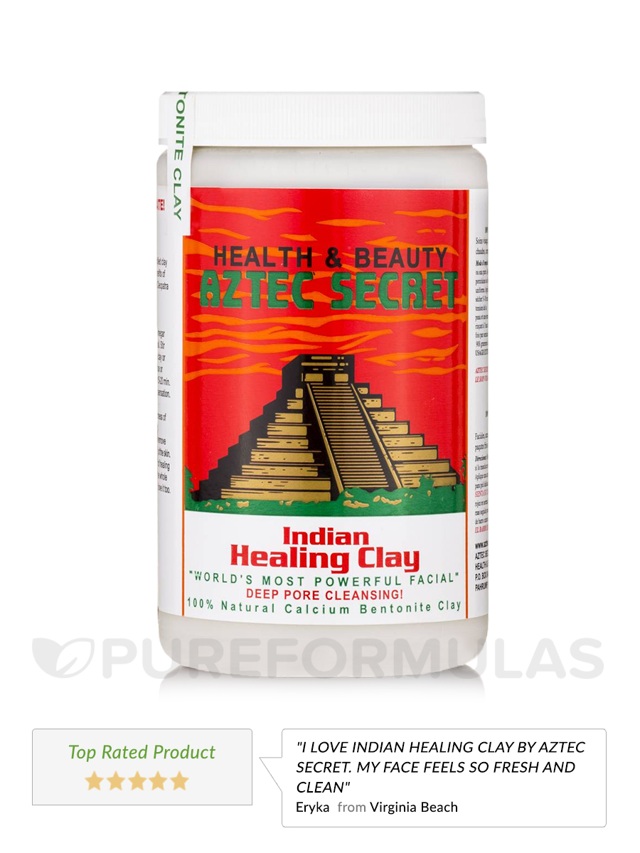 Indian Healing Clay Mask Kit XL - Save 5% on a bundle