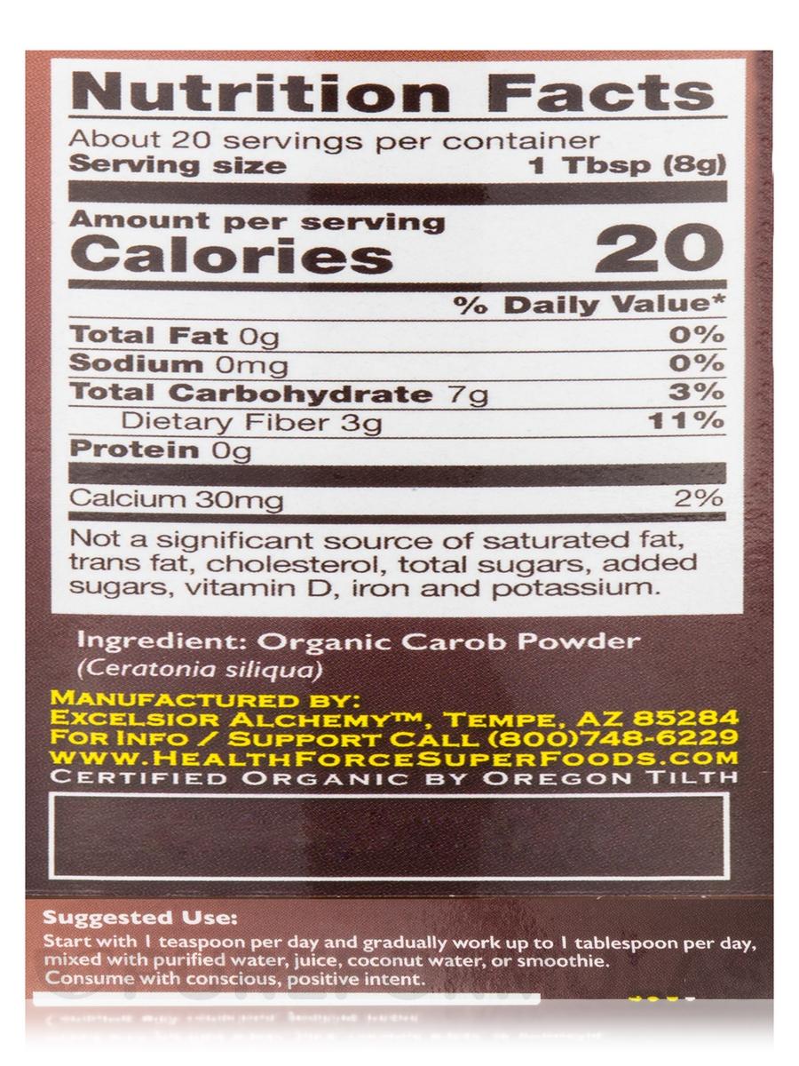 Integrity Foods™ Carob - 5.6 (160 Grams)