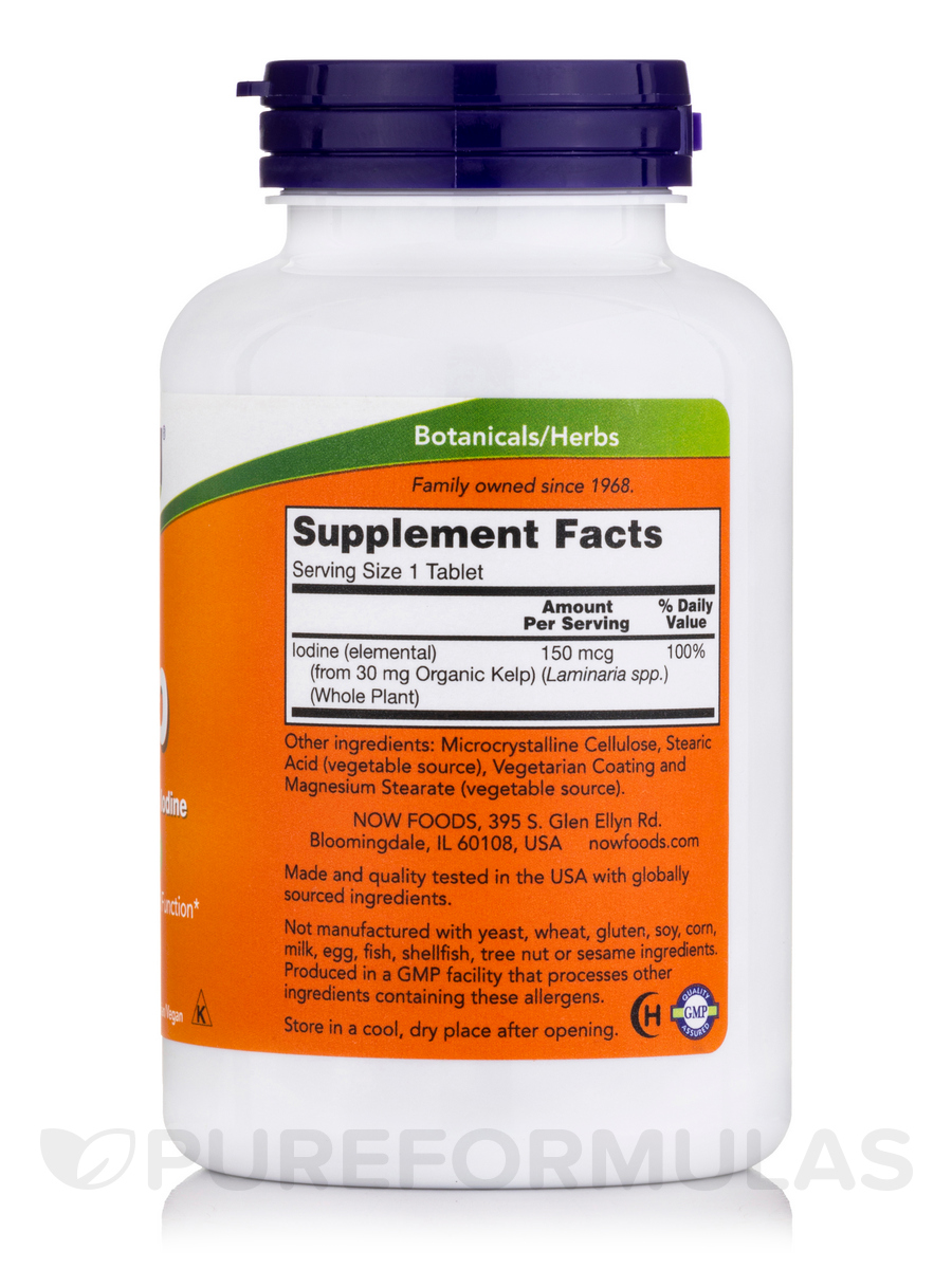 What are kelp tablets used for