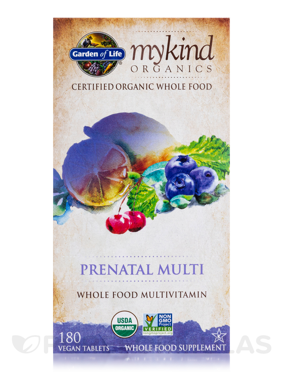 Garden Of Life Kind Organics Prenatal Vitamins Reviews Garden