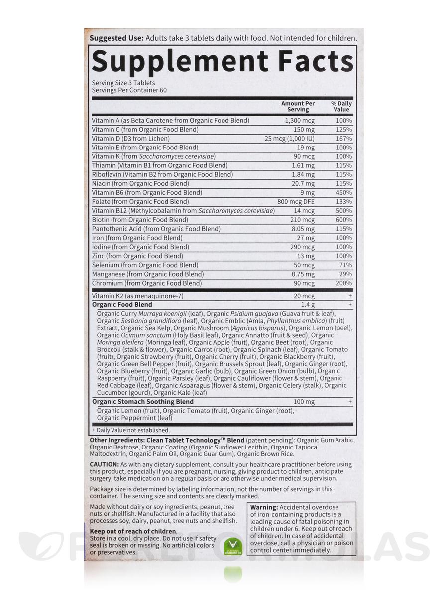 Mykind Organics Prenatal Multi 180 Vegan Tablets