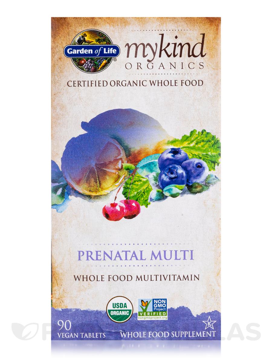 Mykind Organics Prenatal Multi 90 Vegan Tablets