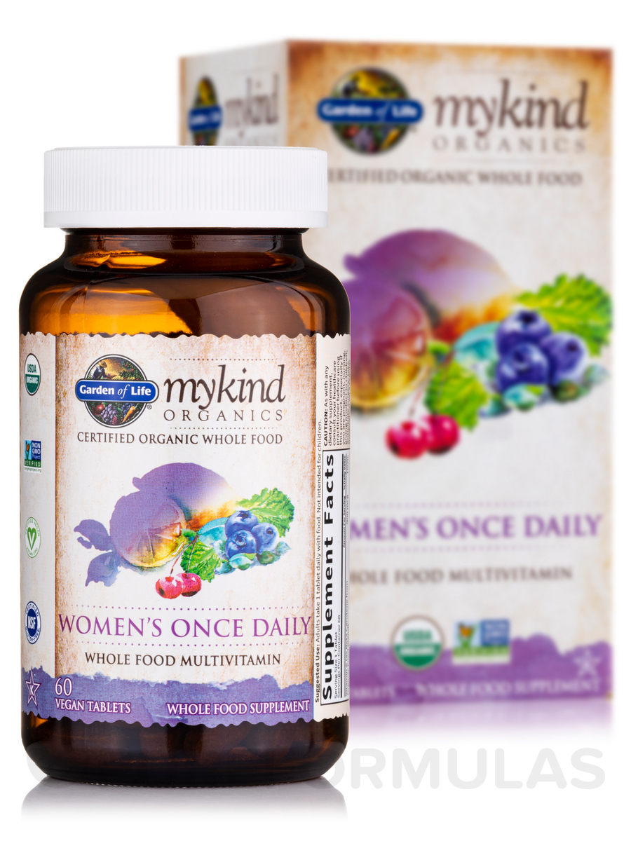 Mykind Organics Women 39 S Once Daily 60 Vegan Tablets