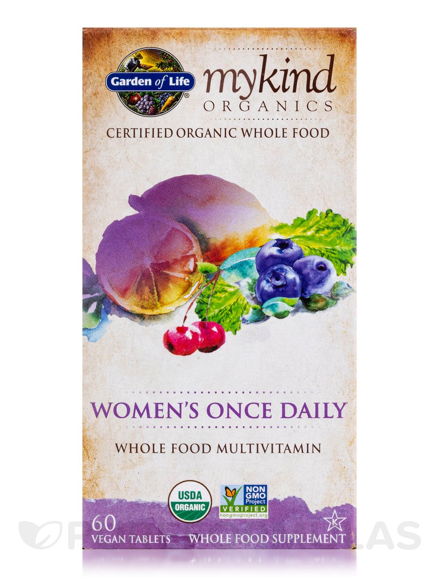 Mykind organics women 39 s once daily 60 vegan tablets for Garden of life once daily women s probiotic
