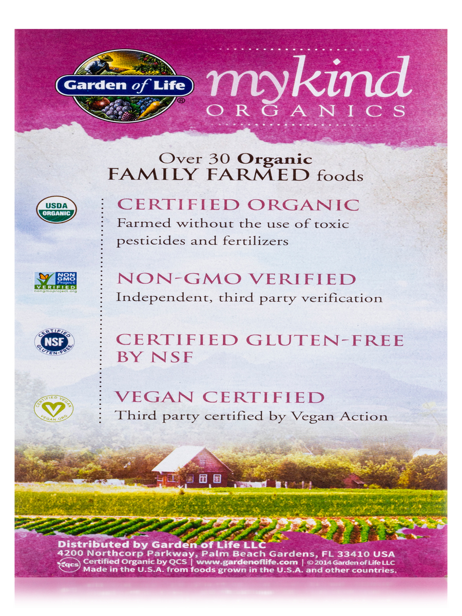 Mykind Organics Women 39 S Multi 40 120 Vegan Tablets