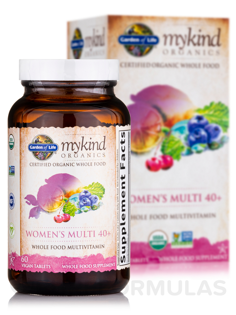 Mykind Organics Women 39 S Multi 40 60 Vegan Tablets