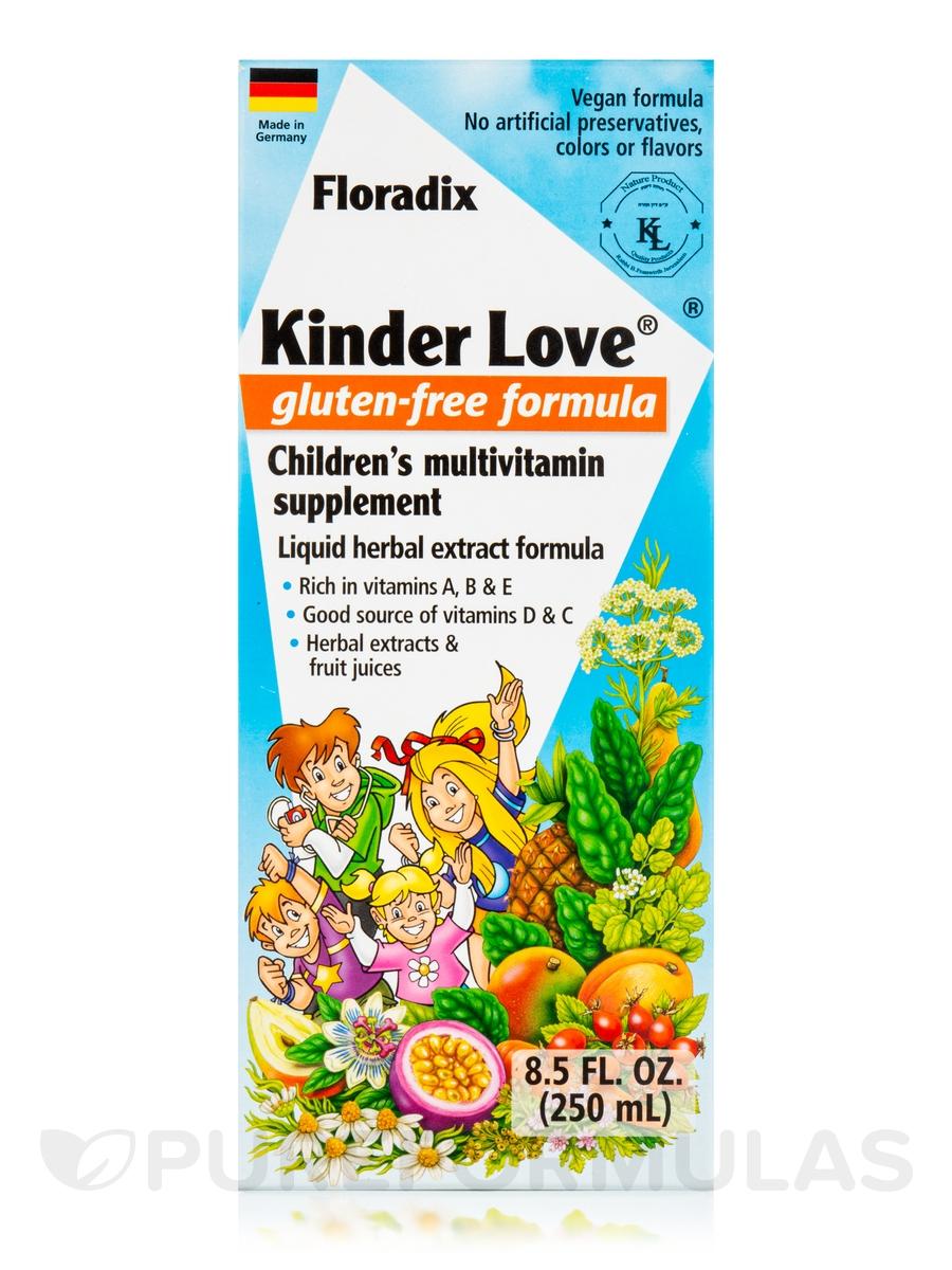 Kinder Love® Children's Multivitamin Gluten-Free Formula ...