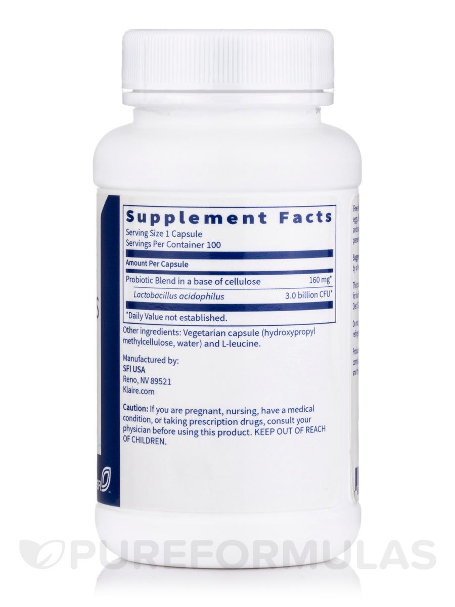 L  Acidophilus SCD™ Compliant - 100 Vegetarian Capsules