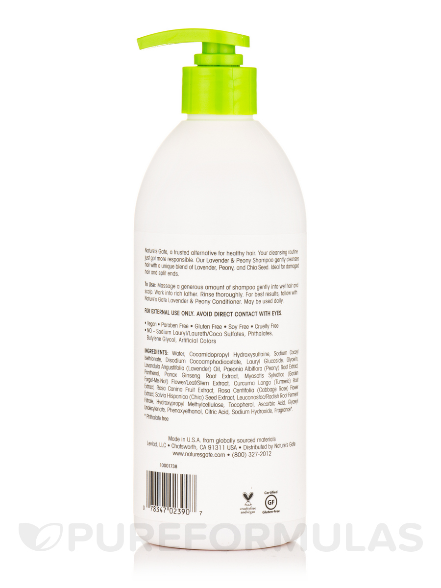 Nature S Gate Lavender And Peony Shampoo Review