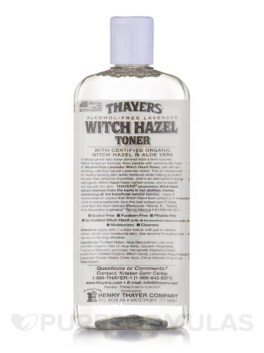Witch Hazel Toner with Aloe Vera, Lavender (Alcohol Free) - 12 fl  oz (355  ml)