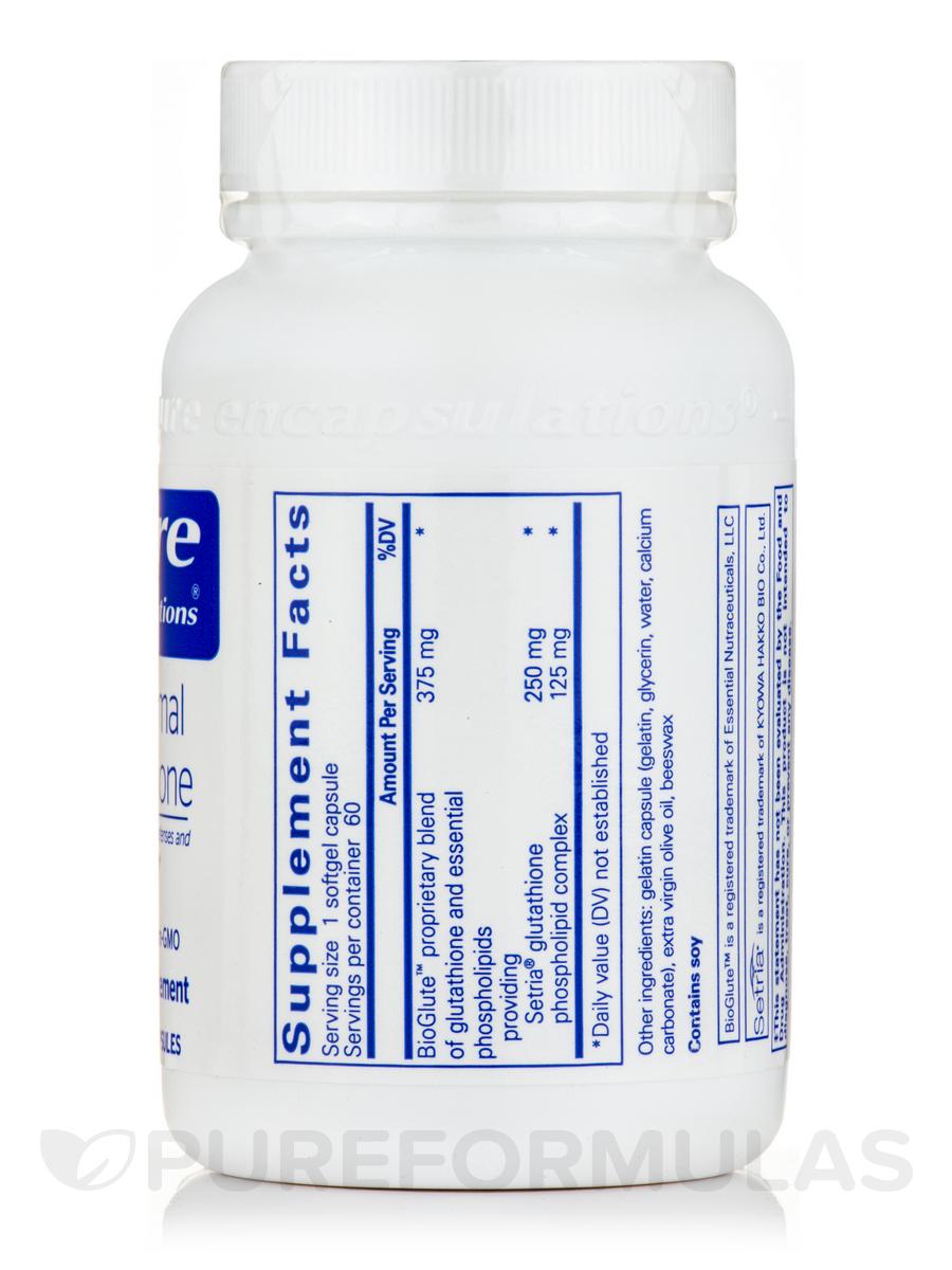 Liposomal Glutathione - 60 Softgel Capsules