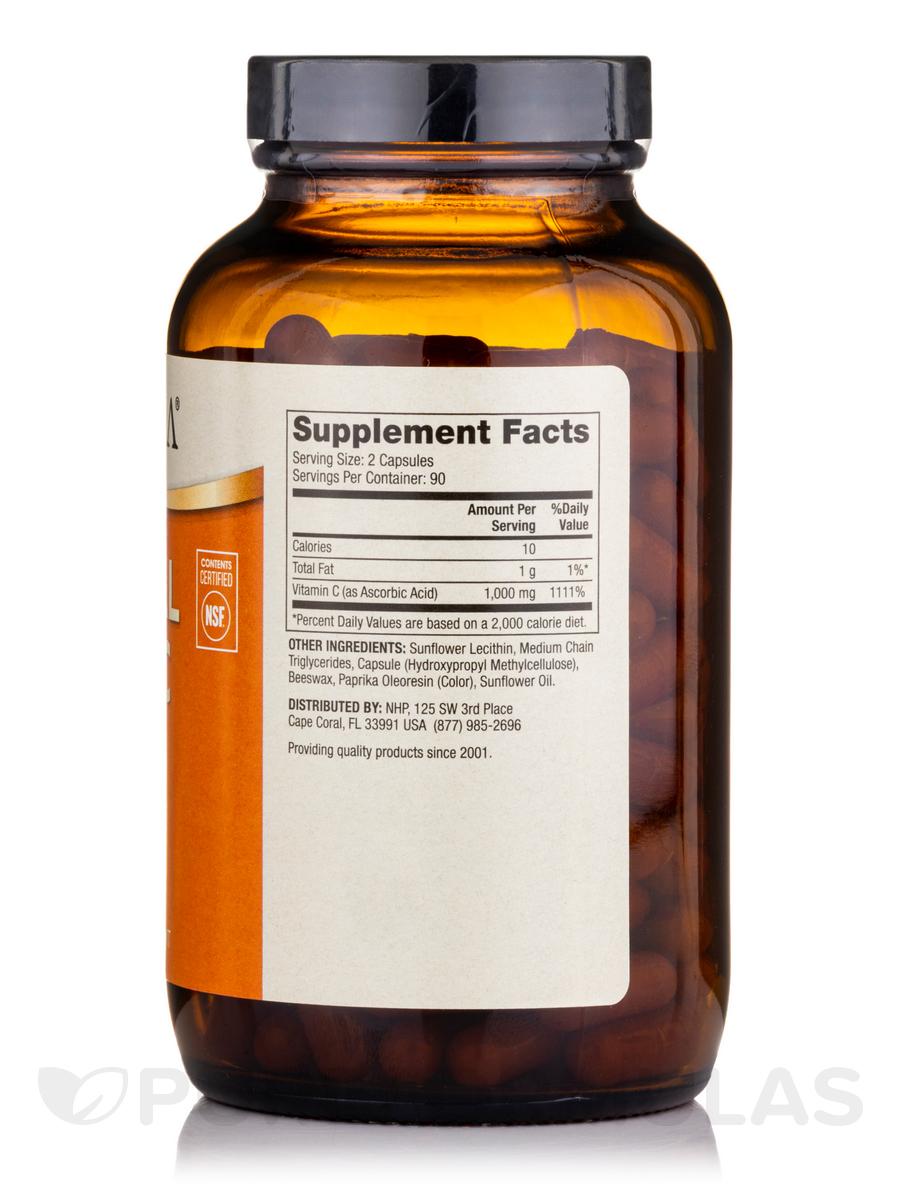Liposomal Vitamin C 1000 mg - 180 Capsules