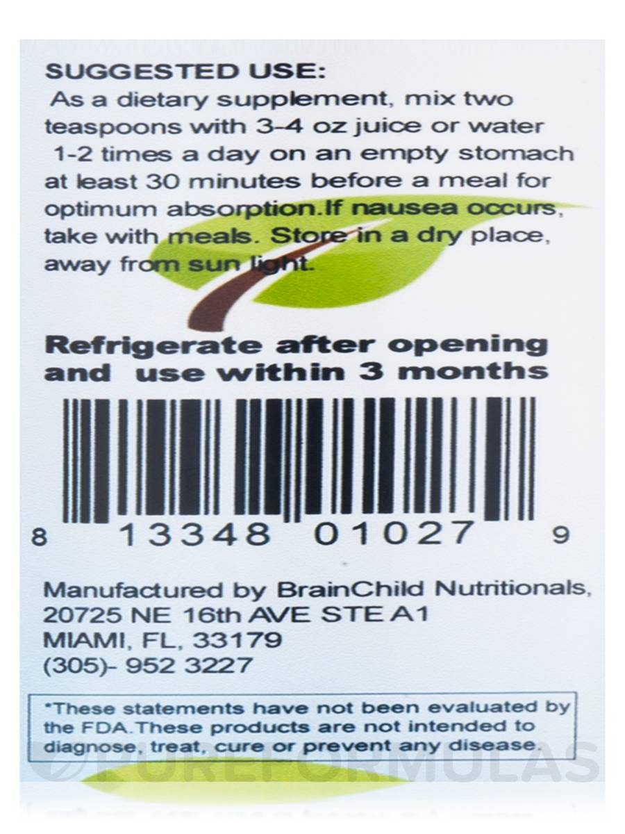 BrainChild Nutritionals effective, fast absorbing liquid