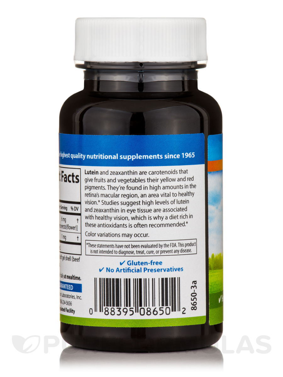 Lutein With Optilut 10 Mg: 60 Soft Gels