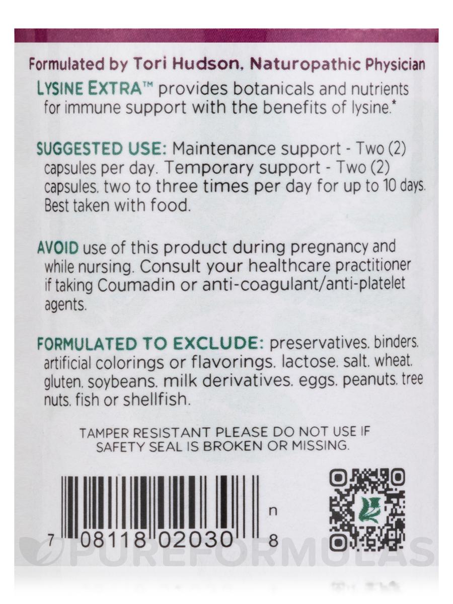 Lysine Extra™ - 60 Vegetarian Capsules