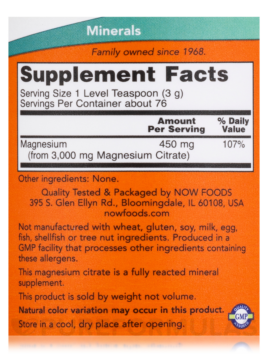 Magnesium Citrate Reviews