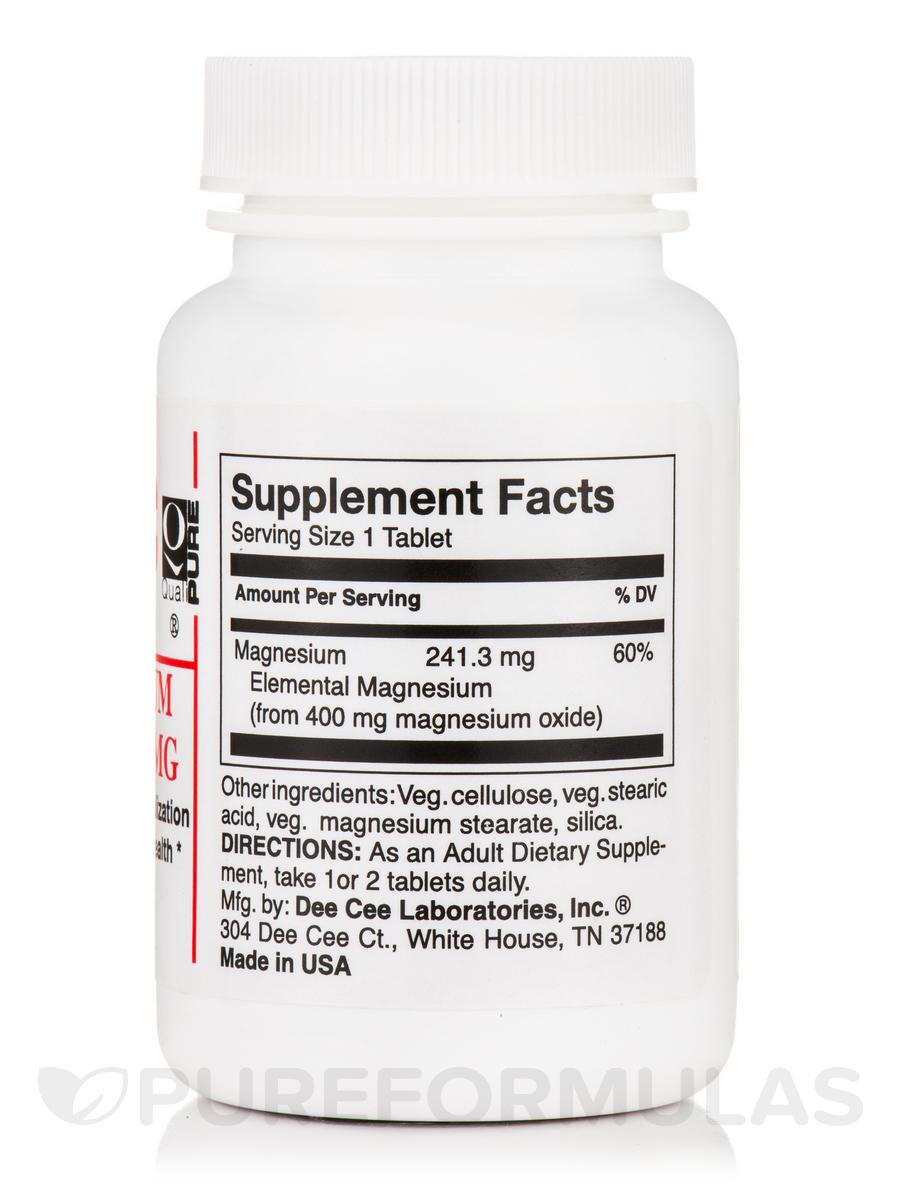 Magnesium Oxide 400 Mg Tab : Magnesium oxide mg tablets