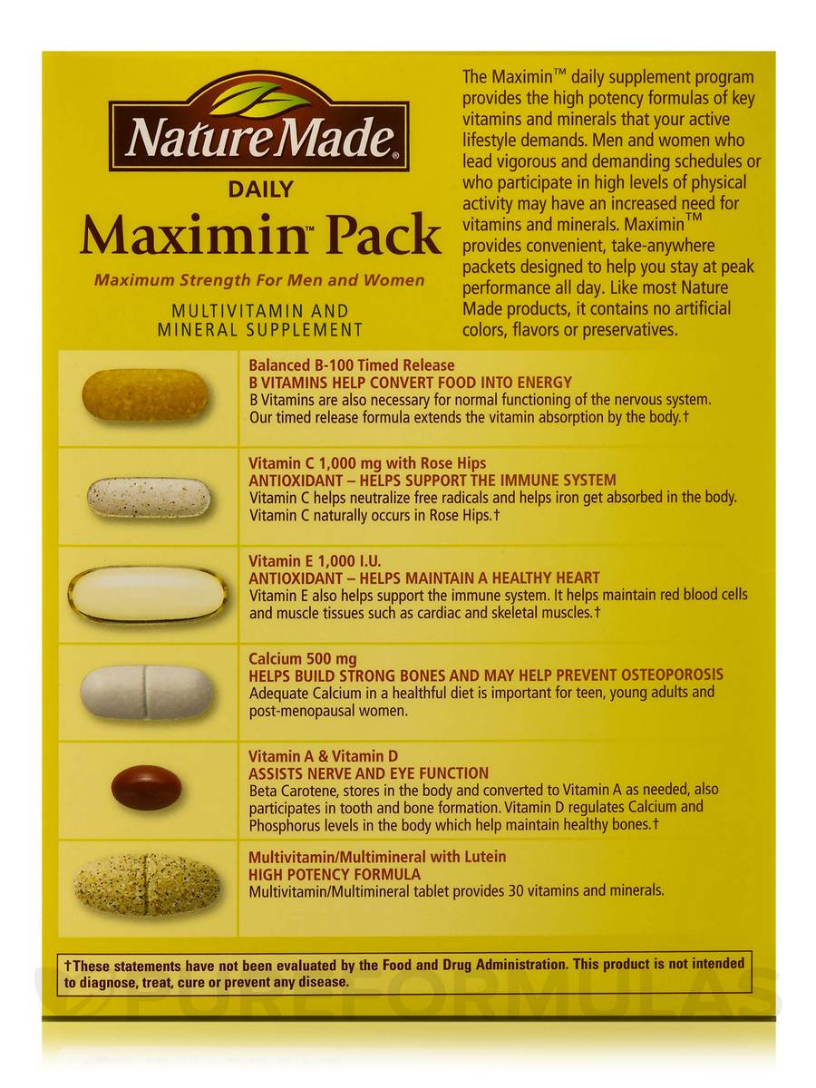 Nature Made Multivitamin For Women Over