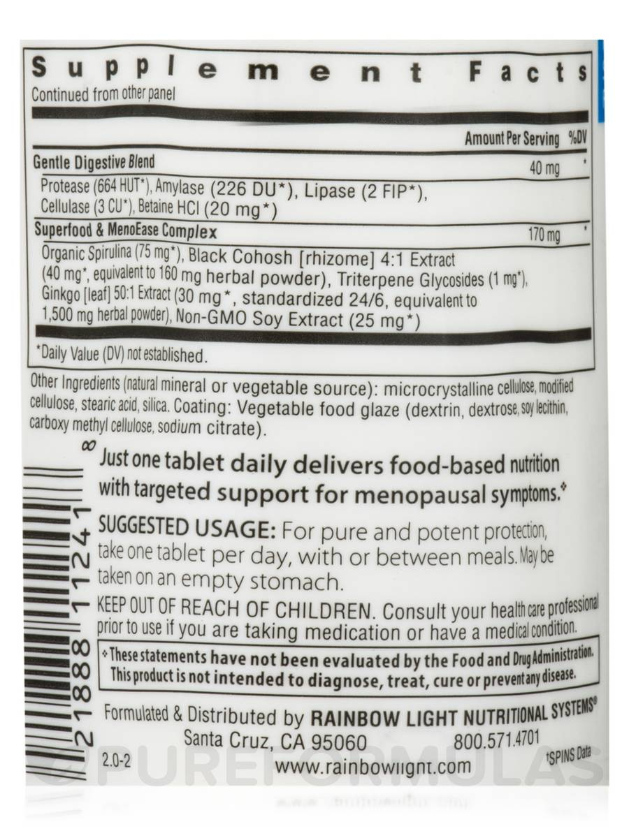 Menopause One Multivitamin 30 Tablets