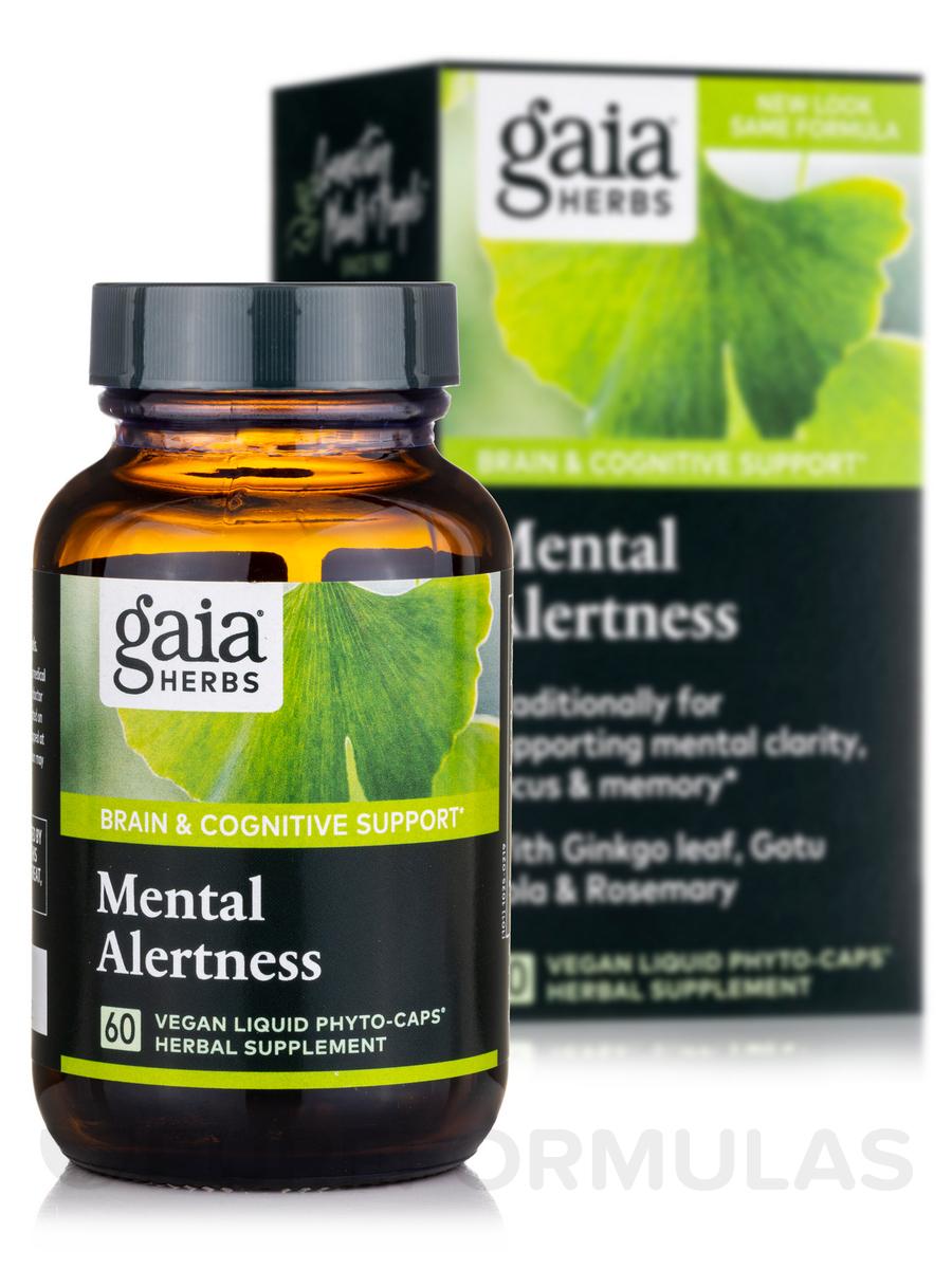 Mental Alertness - 60 Vegetarian Liquid Phyto-Caps®