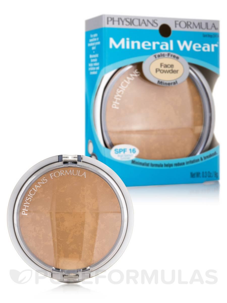 Mineral wear powder