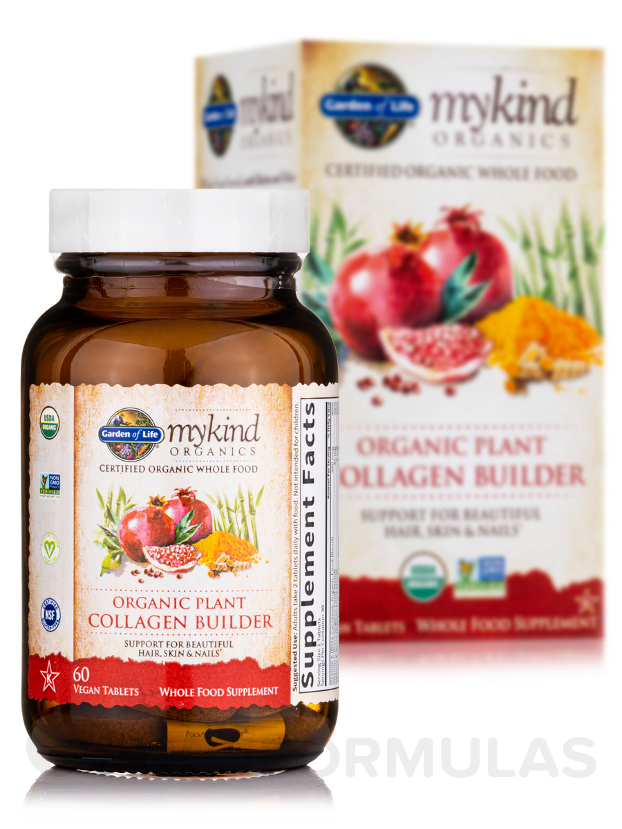 Mykind Organics Organic Plant Collagen Builder 60 Vegan Tablets