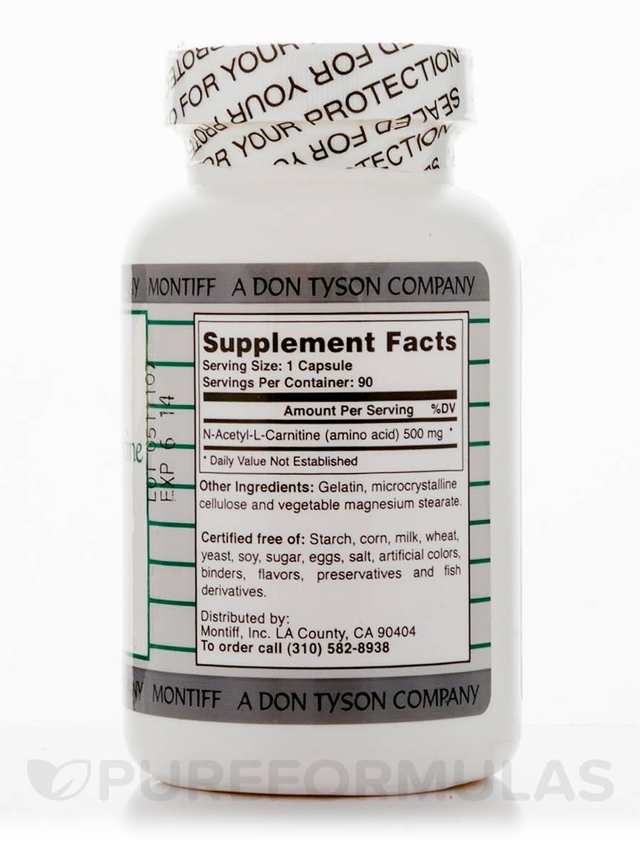 n-acetyl-l-carnitine 500 mg