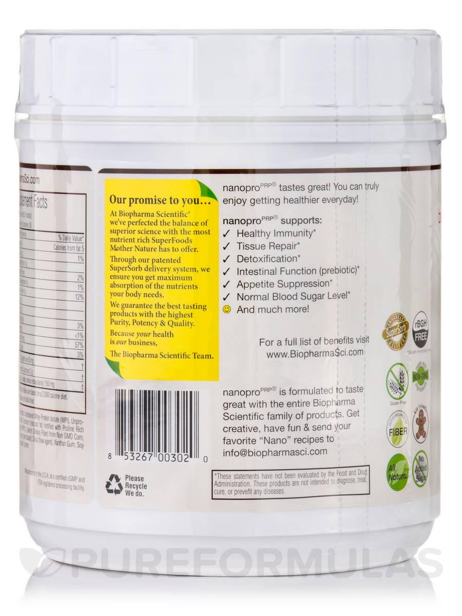 NanoPro® PRP Immune, Vanilla Bean Flavor - 1 2 lbs (540 Grams)