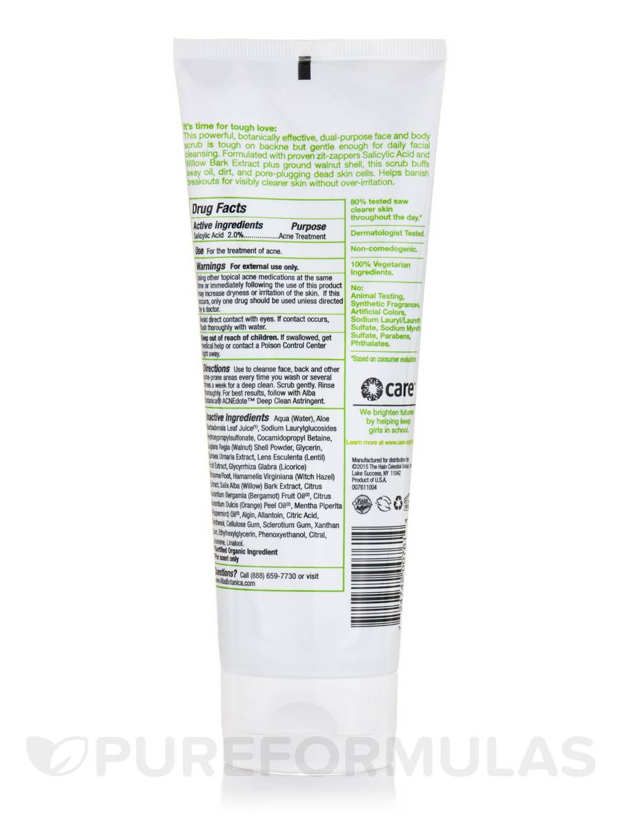 AcneDote™ Face & Body Scrub - 8 oz (227 Grams)