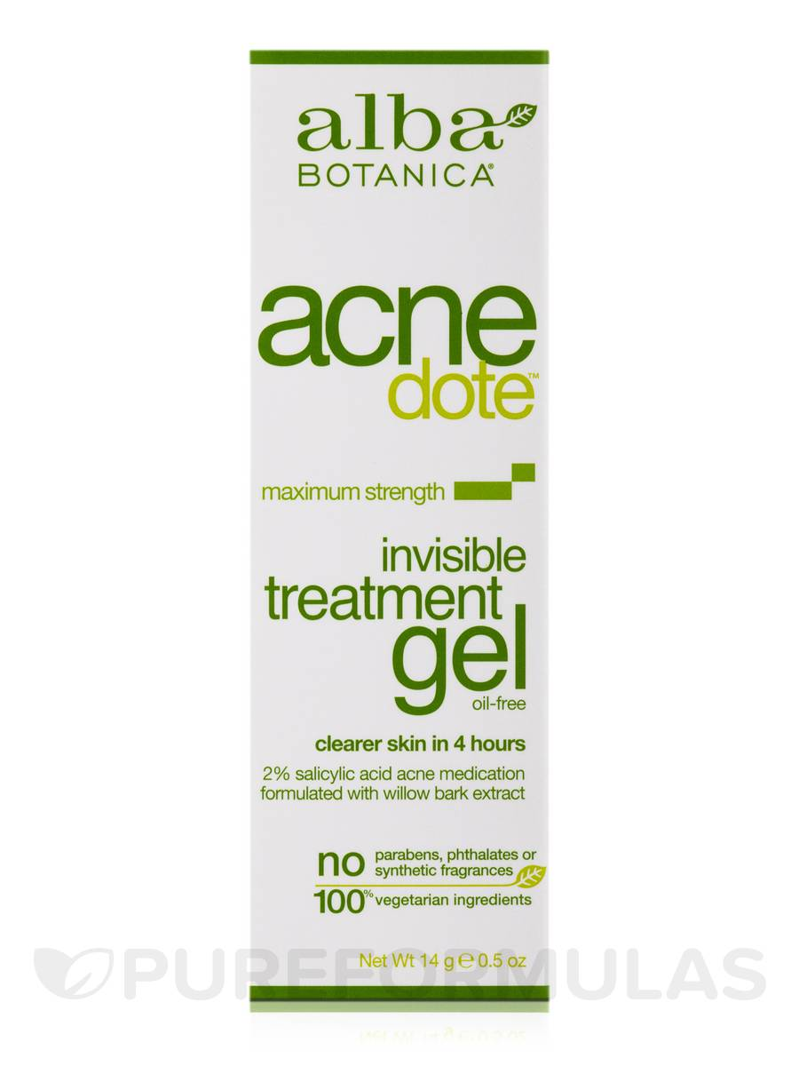 Alba Botanica Gel Acnedote Treatment, 0.5 OZ GiGi Antioxidant Reviving Eye Cream (Pack of 3)