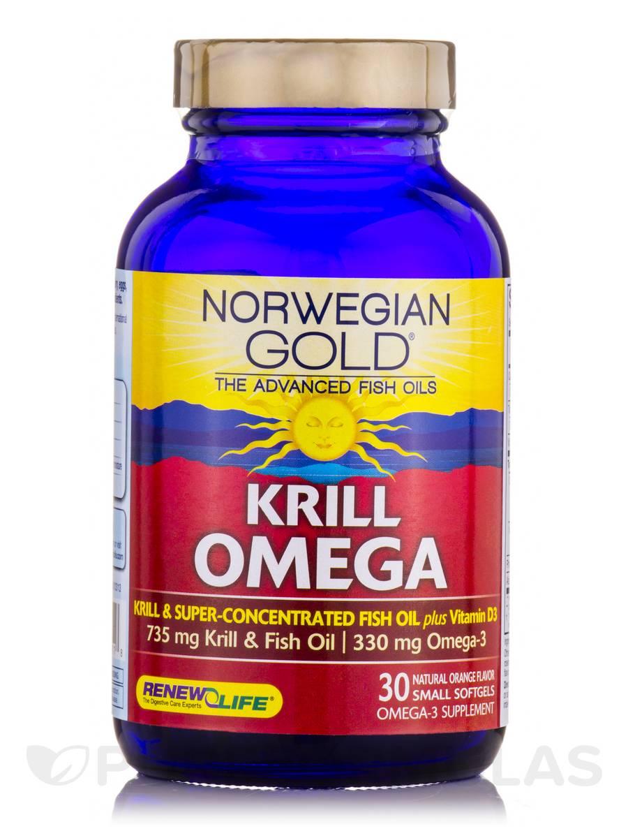 Norwegian gold krill omega 30 fish gels for Is krill oil better than fish oil