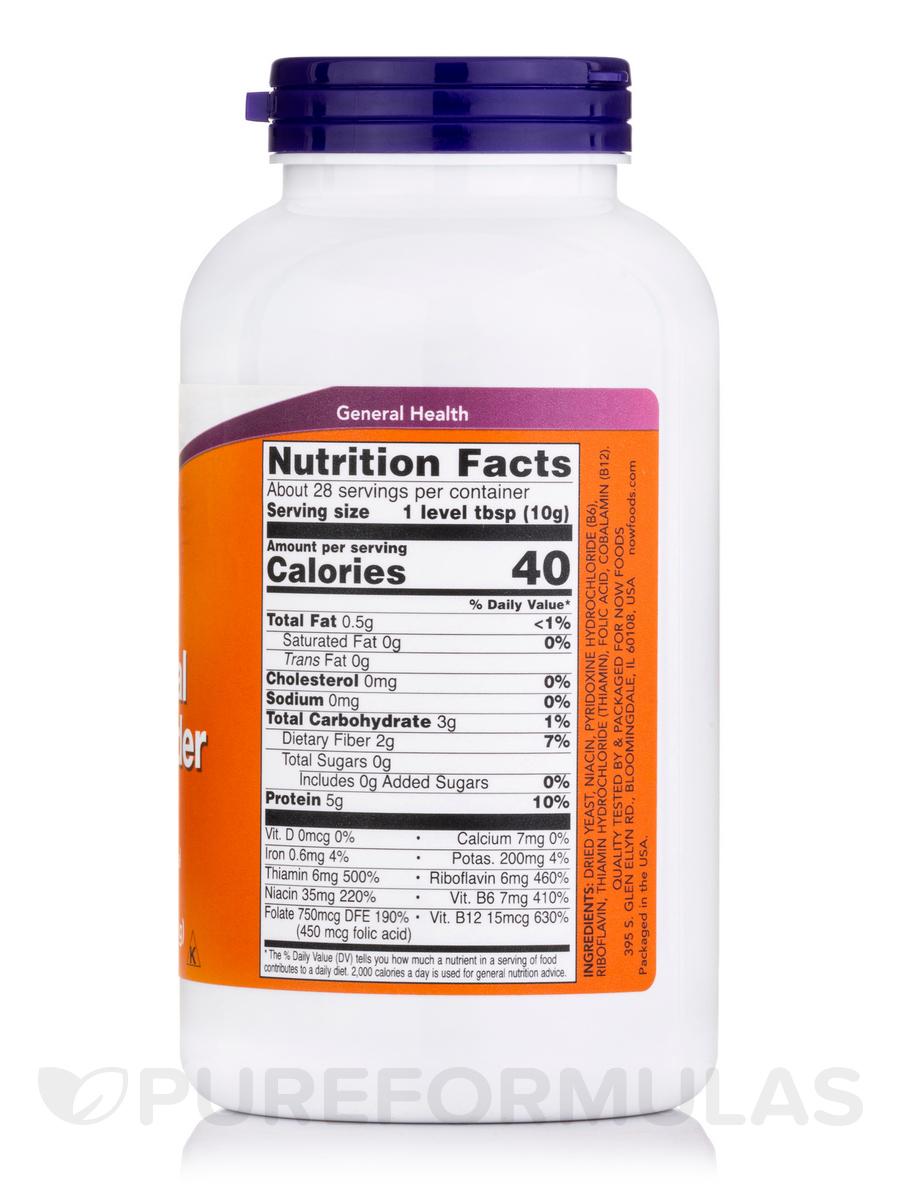 Nutritional yeast folic acid