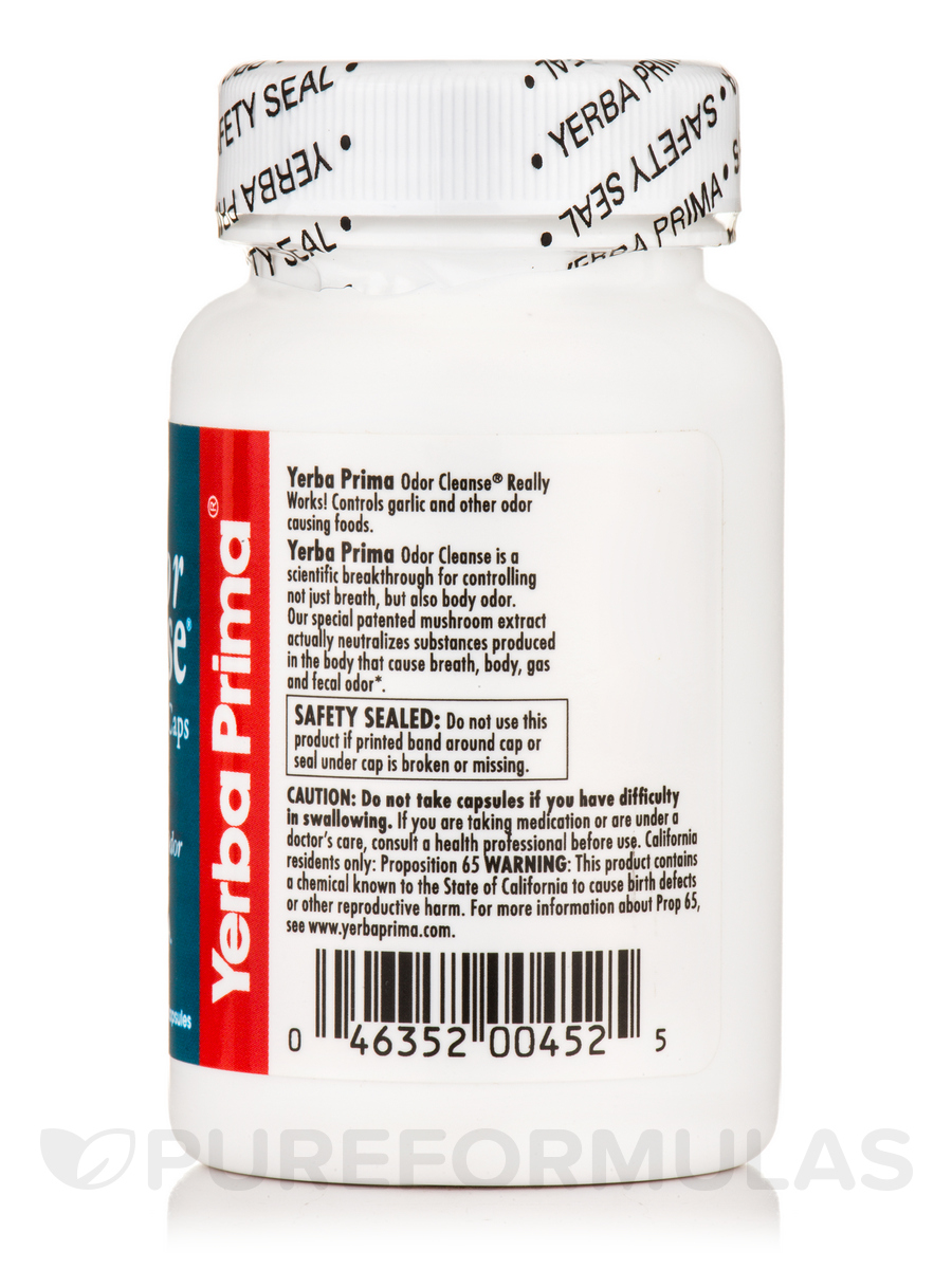 Odor Cleanse® Breath & Body - 50 Capsules