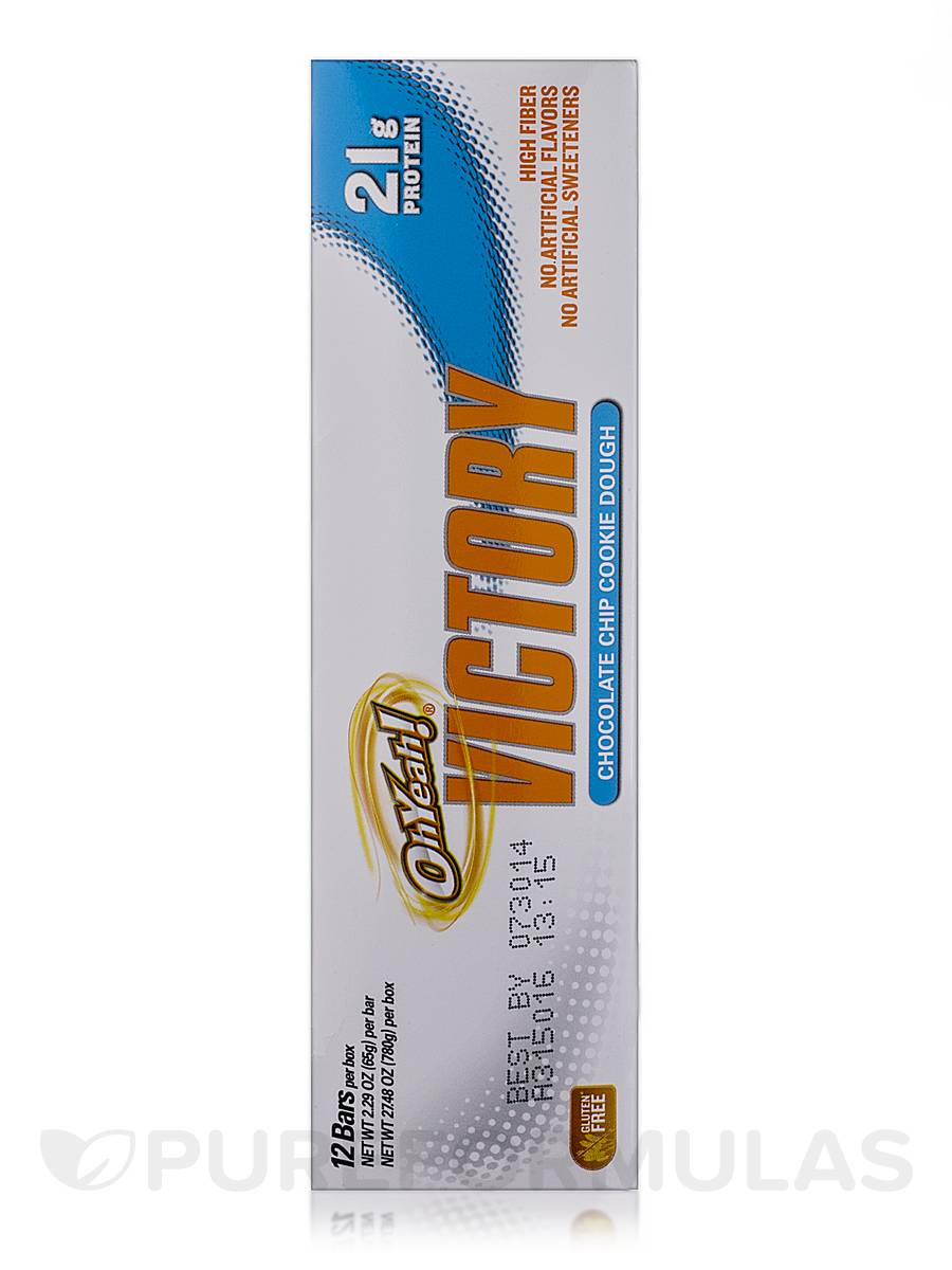 ... » Oh Yeah! Victory Bar Chocolate Chip Cookie Dough - Box of 12 Bars
