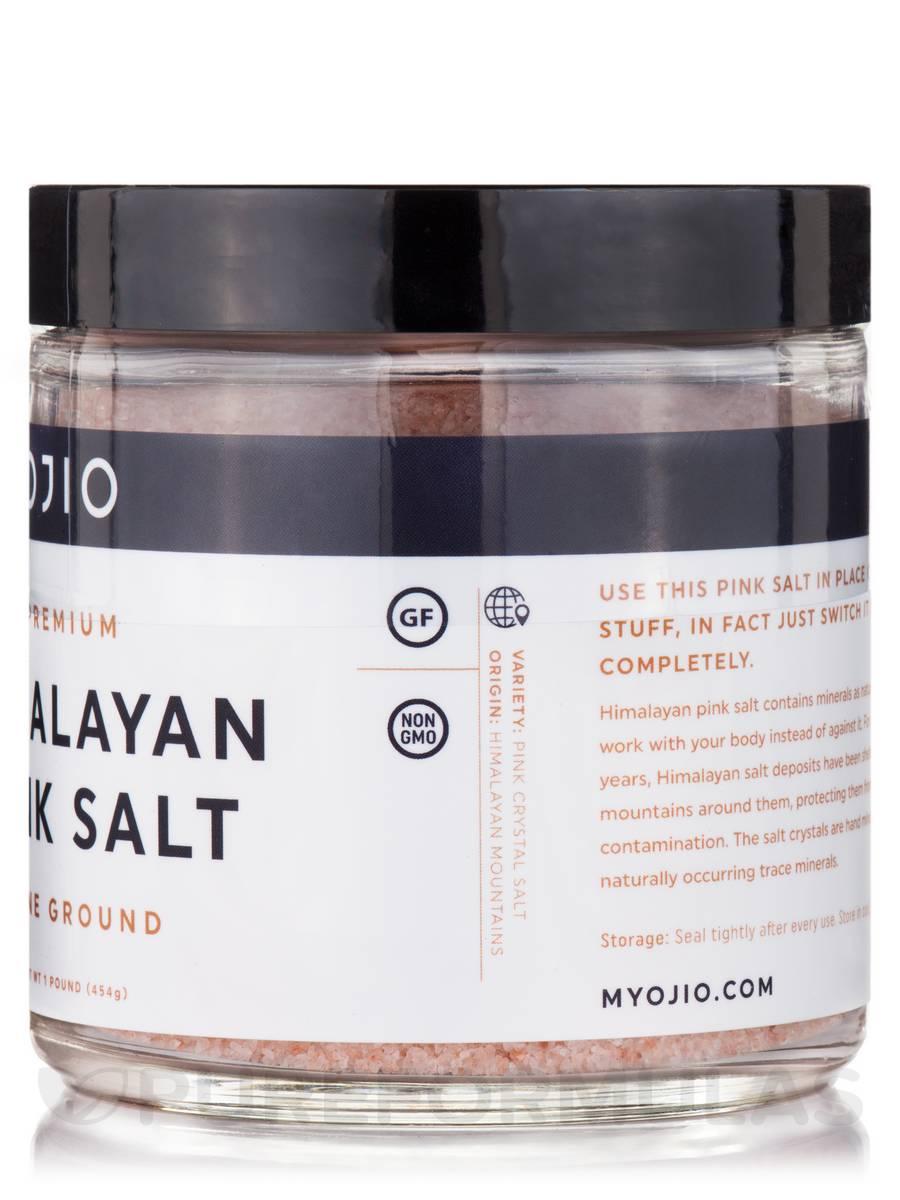 Premium Himalayan Pink Salt, Fine Ground - 1 lb (454 Grams)