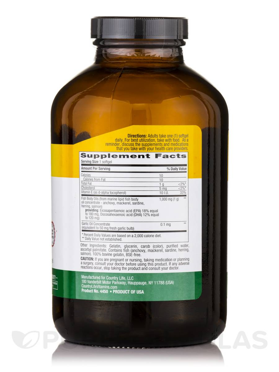 Omega 3 1000 mg fish oil 300 softgels for Fish oil 1000mg