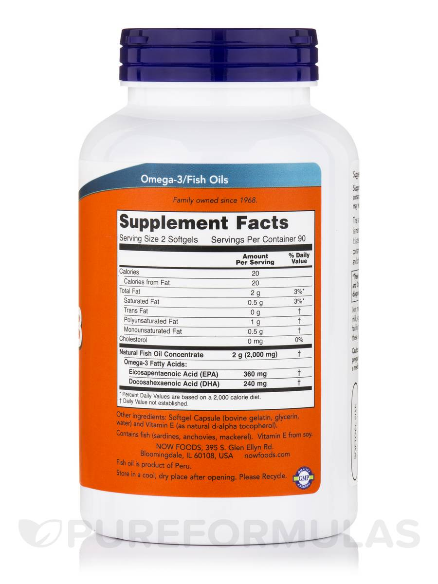 Omega 3 cholesterol free 180 softgels for Is fish oil good for cholesterol