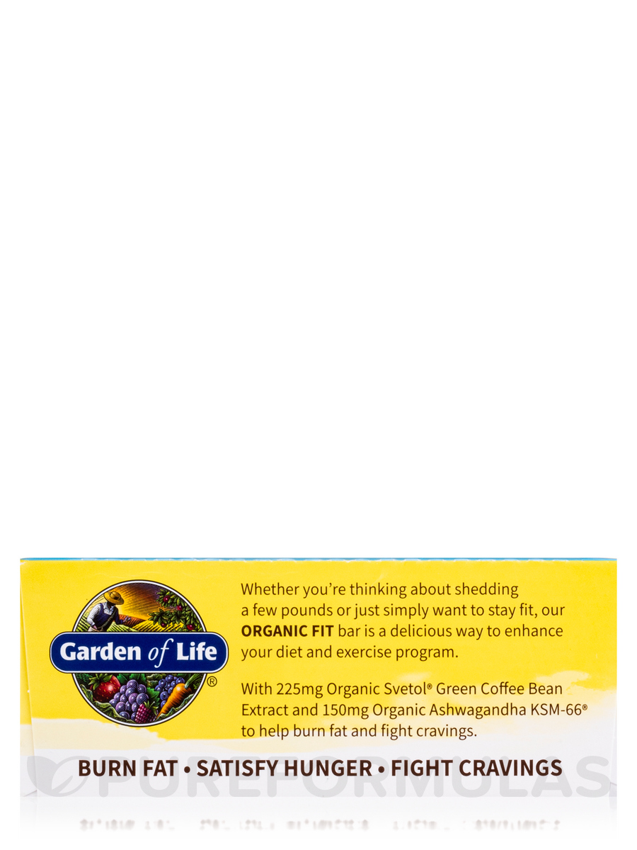 Organic Fit High Protein Weight Loss Bar Chocolate Almond Brownie Box Of 12 Bars 1 9 Oz 55