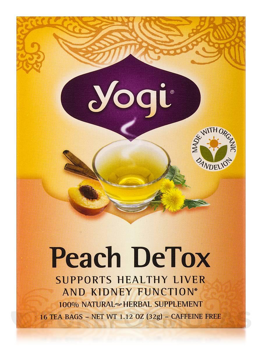 peach detox tea 16 tea bags. Black Bedroom Furniture Sets. Home Design Ideas
