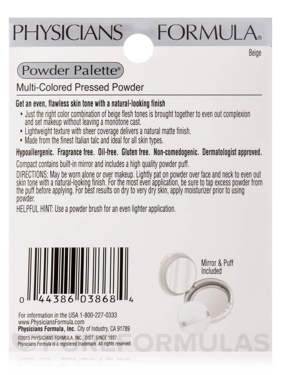 Palette Multi Colored Pressed Powder