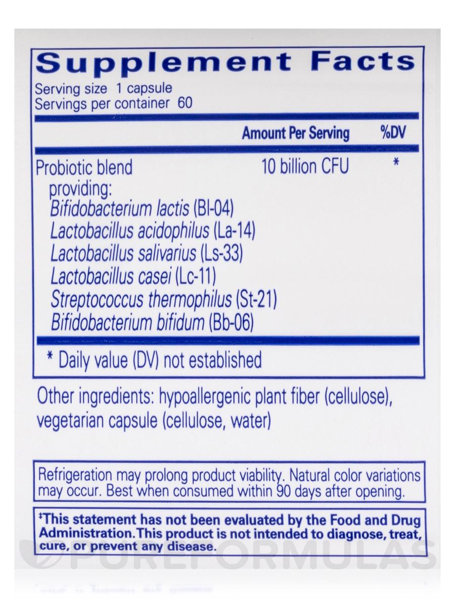 Probiotic G I 60 Capsules